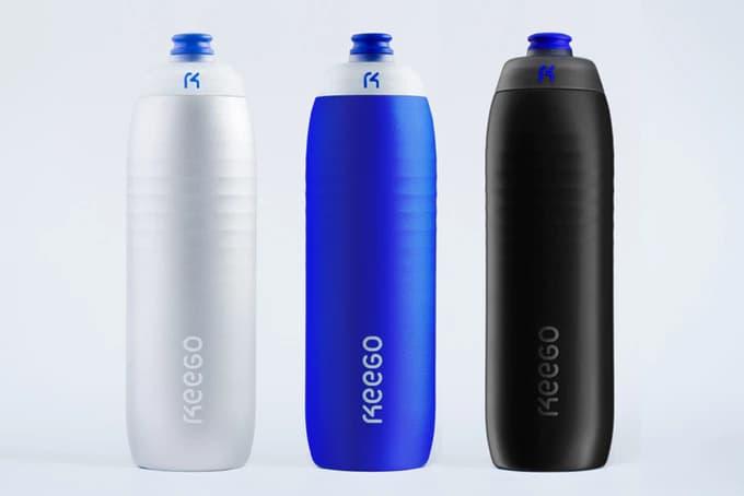 Keego Trinkflasche aus Titan