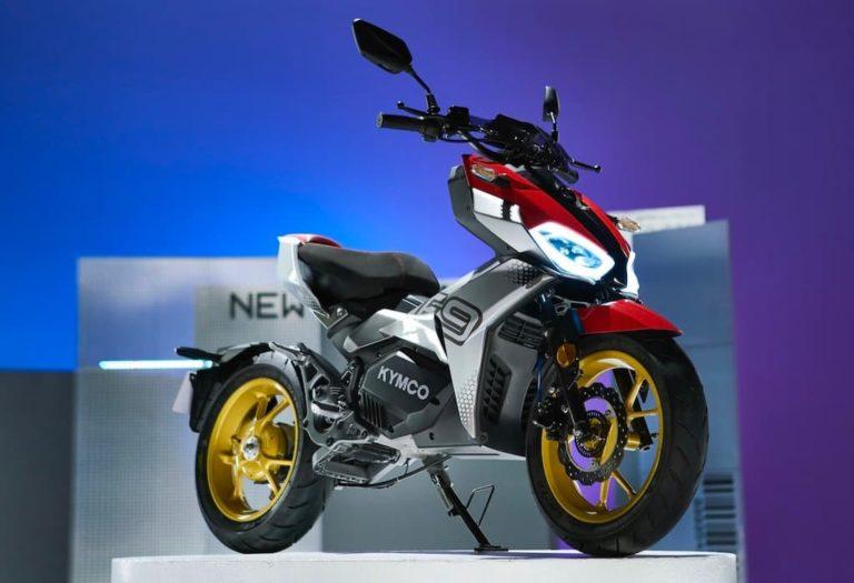 Kymco F9 - E-Motorrad-E-Scooter Hybrid