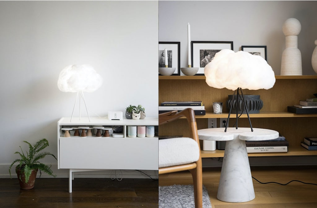 Lampshade Cloud Tabletop Lampe