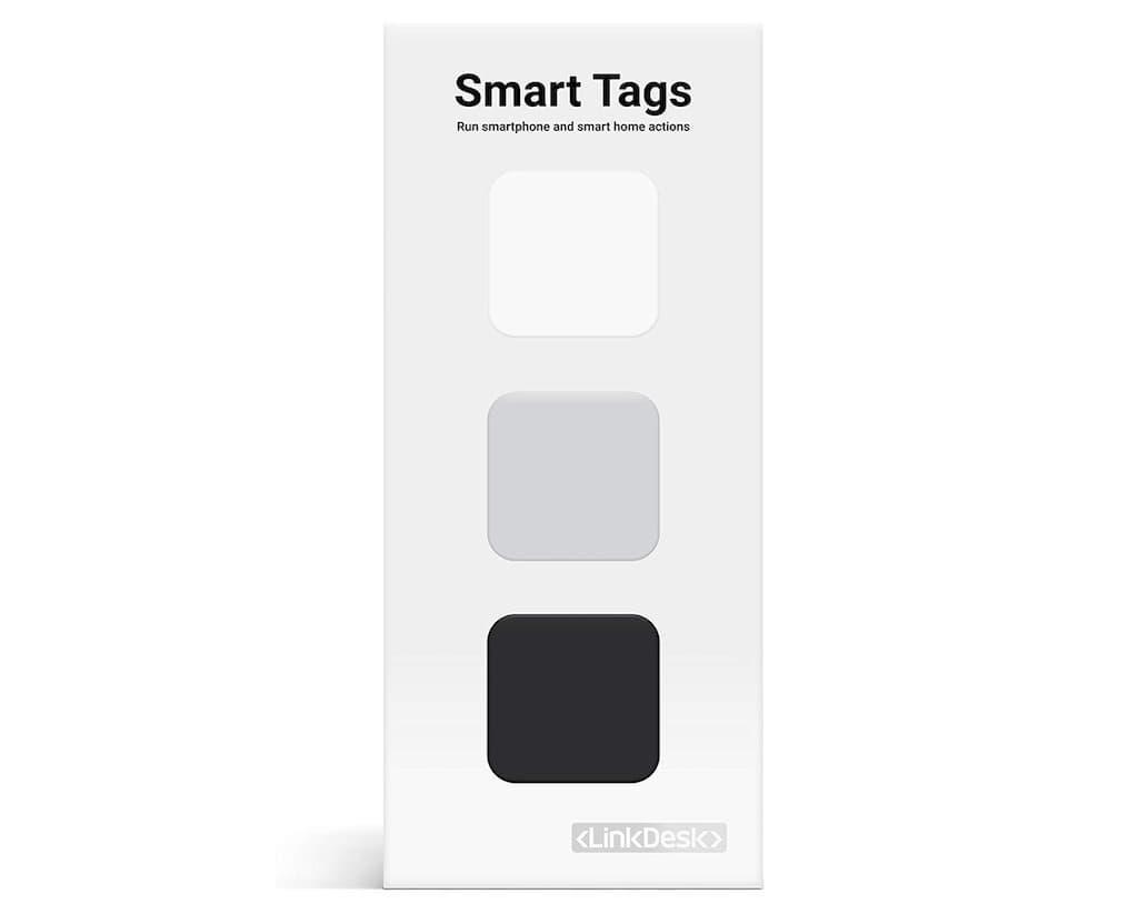 LinkDesk Smart Tags - selbstklebende NFC-Tags