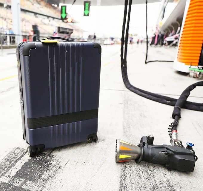 Montblanc x Pirelli - MYX4810 Cabin Trolley
