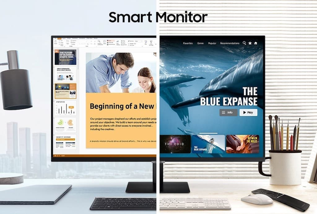 Samsung Smart Monitor - der Home Office Monitor