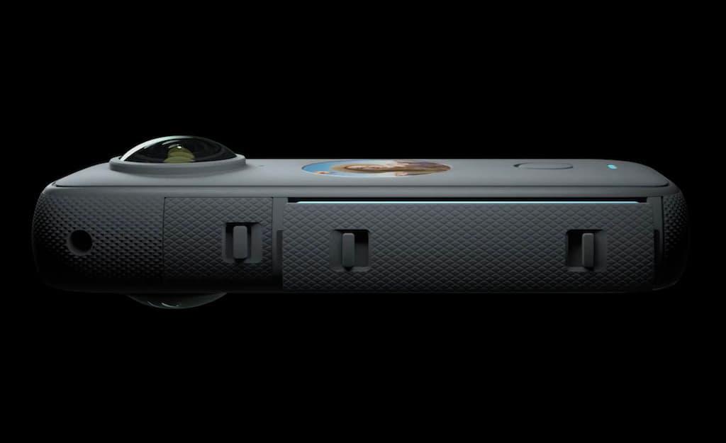 Seitenansicht der Insta360 One X2 Kamera