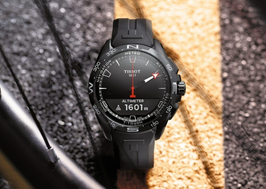 Tissot T-Touch Connect Solar SmartWatch