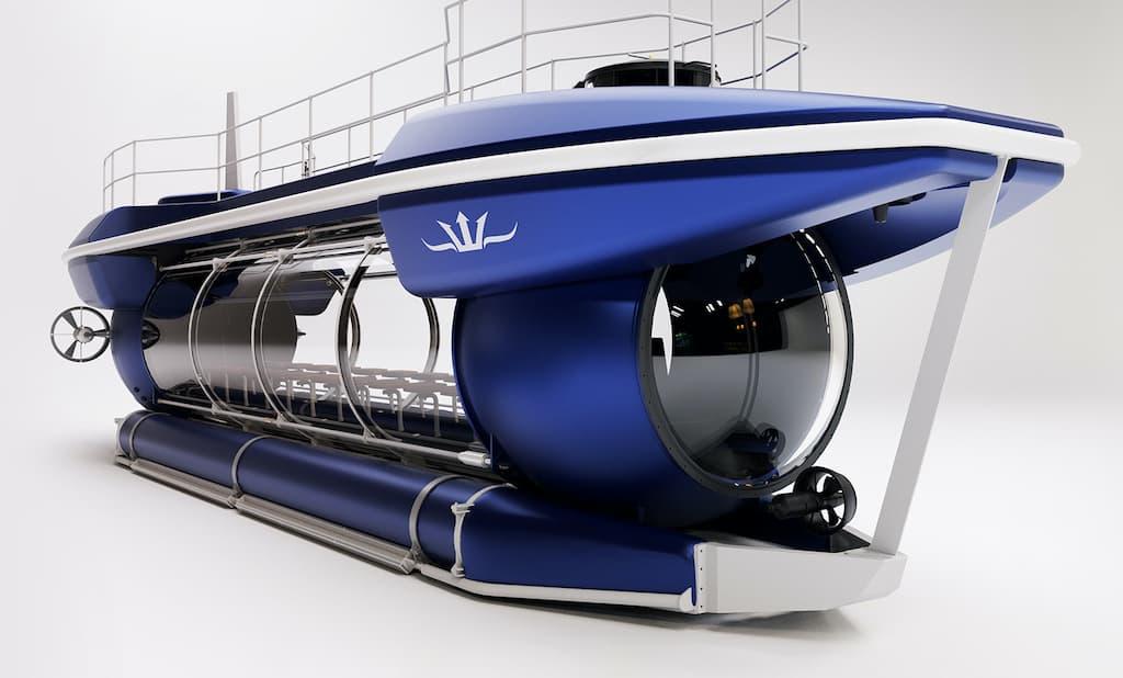 Triton DeepView - das Glas U-Boot