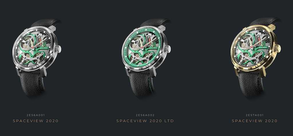 Accutron Spaceview 2020 Modelle