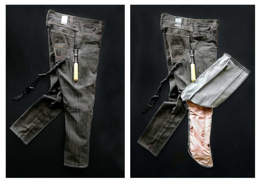 Airbag Jeans von Mo'Cycle