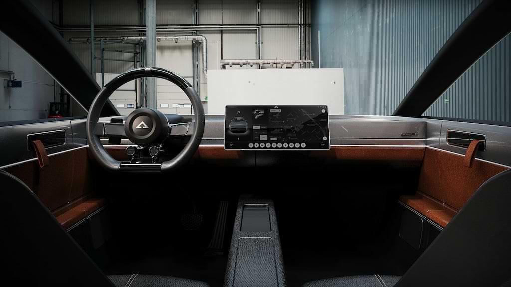 Cockpit und Interior des Alpha Ace