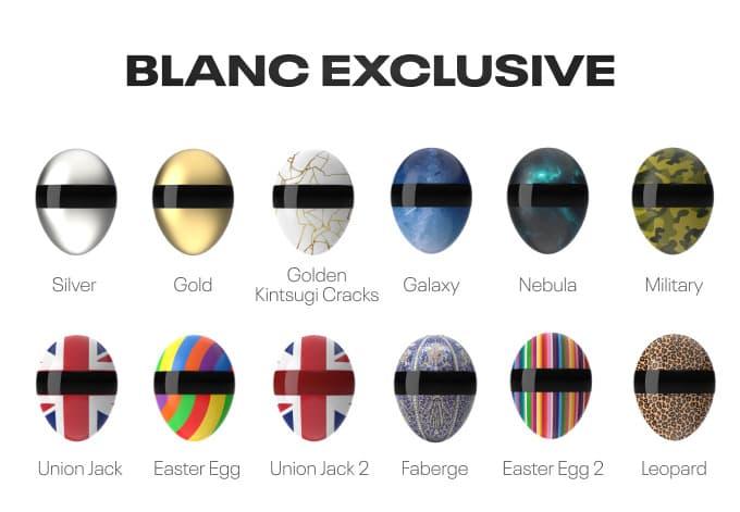 Blanc Mask Farben