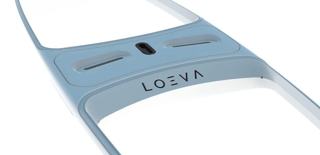 Durchsichtiges Stand-Up Paddle Board von Loeva
