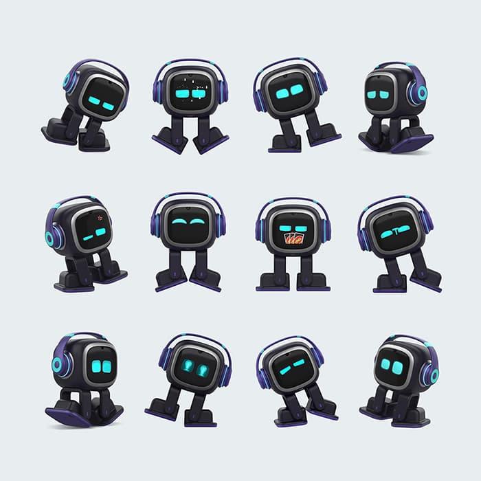 EMO Roboter mit 1000+ Gesichter und Aktionen