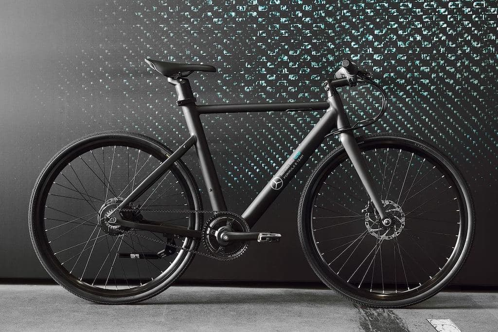 n+ Mercedes-Benz EQ Formula E Team eBikes