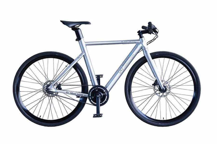 Silver Arrows eBike von Mercedes-Benz