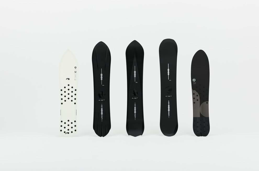 2021 Kollektion der Burton 3D-Snowboards
