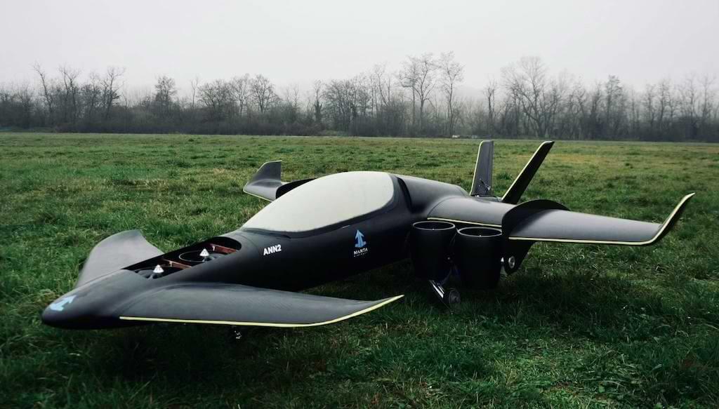 ANN2 HeVSTOL von Manta Aircraft