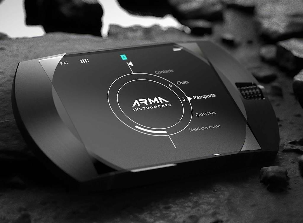 Display des ARMA G1 Secure Communicator