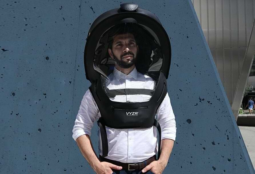 BioVYZR: Personal Air-Purifying Shield