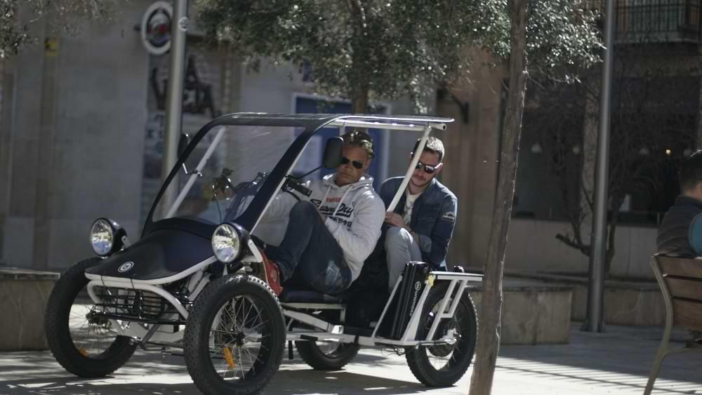 Duo Moke: 4-Rad E-Bike