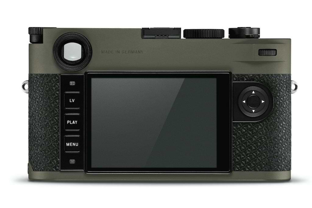 Leica M10-P Reporter Kamera - Display und Menu
