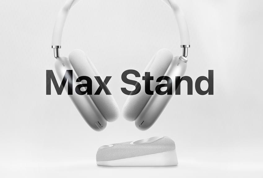Max Stand: AirPods Max Ladestation