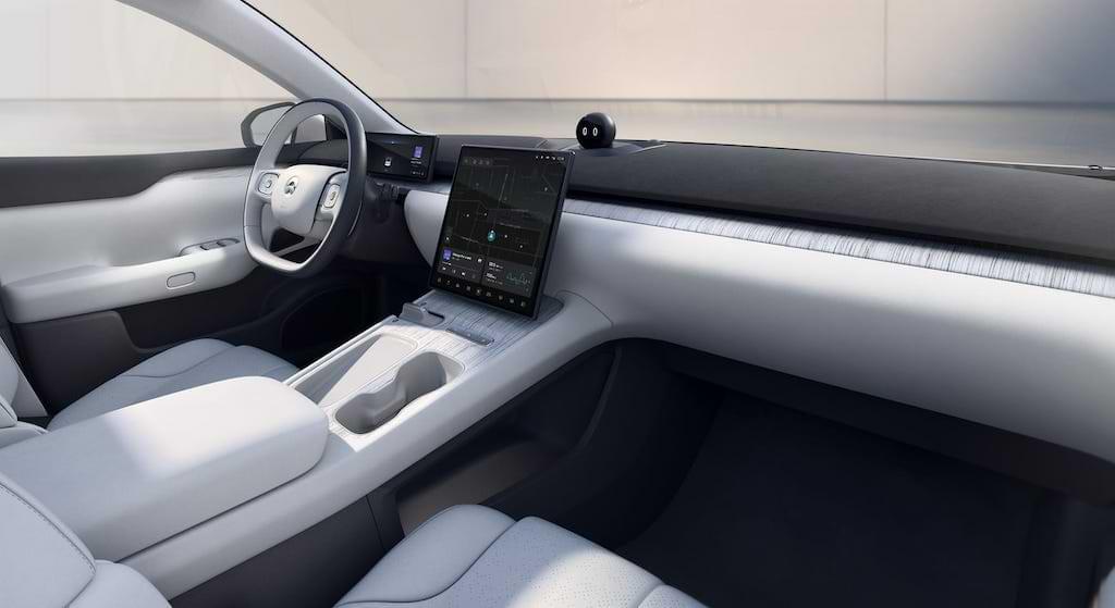 NIO ET7 Interior und Cockpit