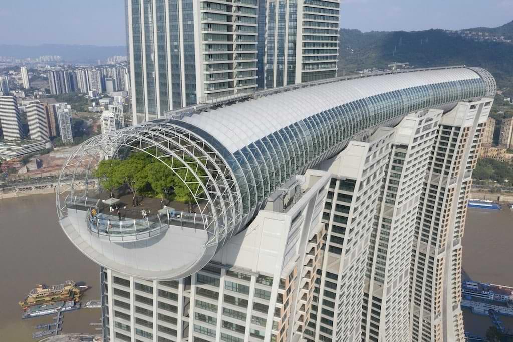 Raffles City Chongqing von Moshe Safdie