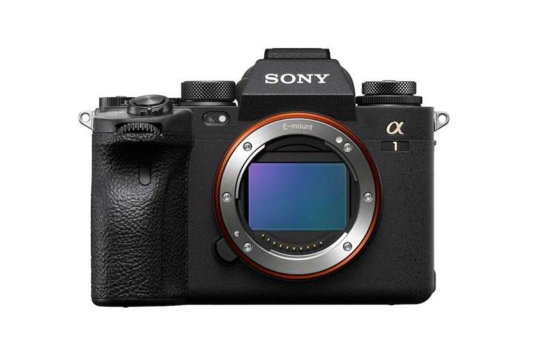 Spiegellose Profikamera Sony Alpha 1 mit 50MP