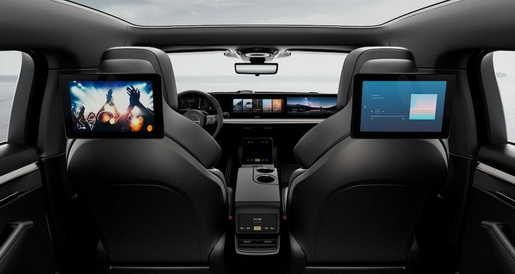 Sony Vision S Prototyp Interior