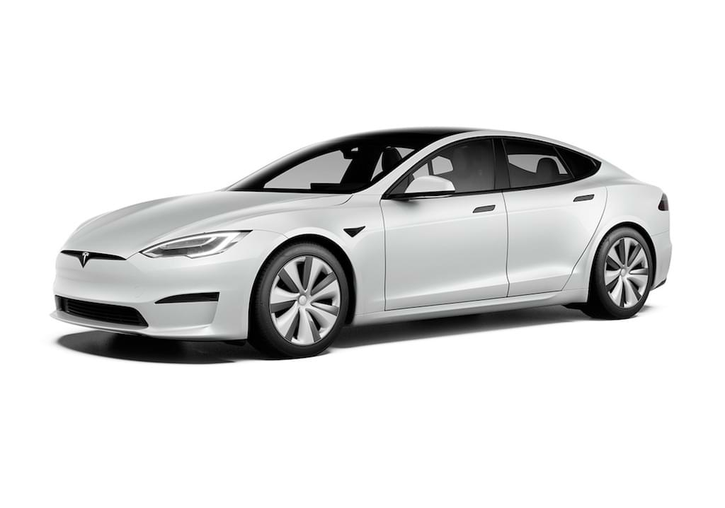 Tesla Model S 2021 in Pearl White