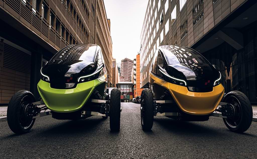 Triggo Elektro-Fahrzeug für die City