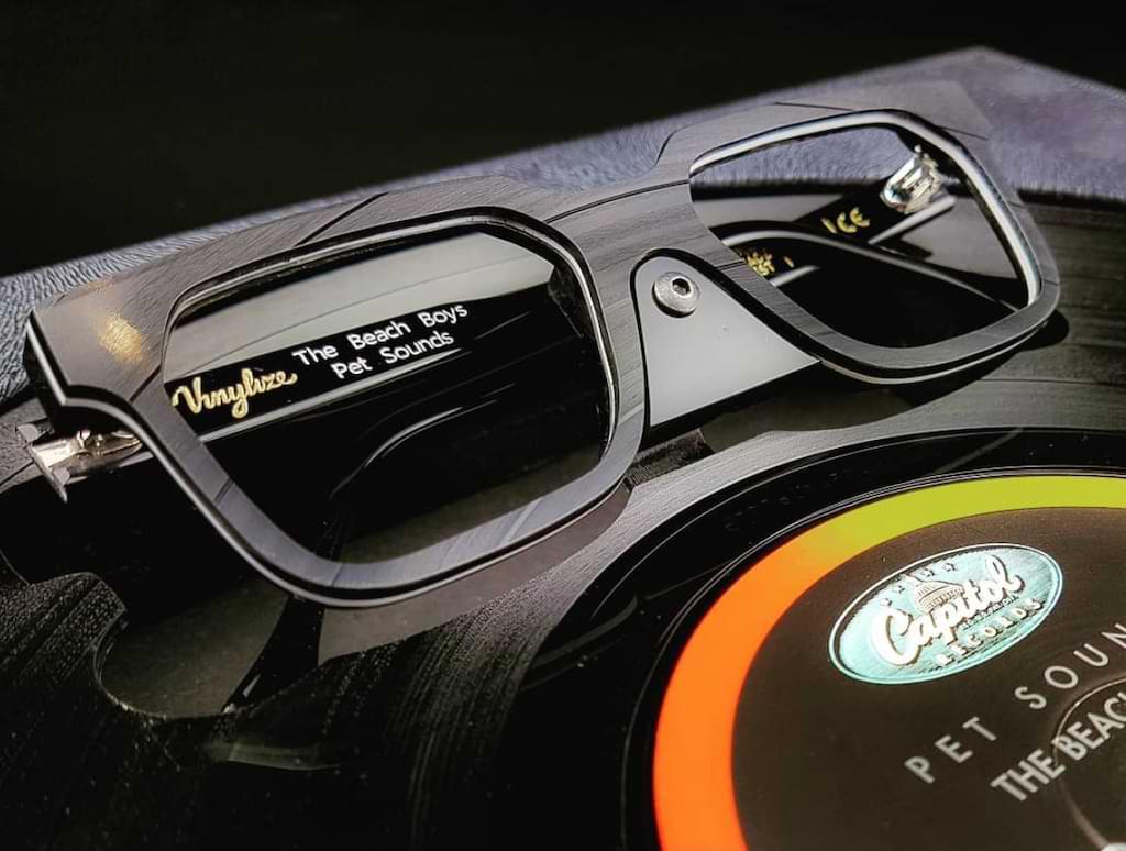 Vinylize - Brillen aus alten Schallplatten
