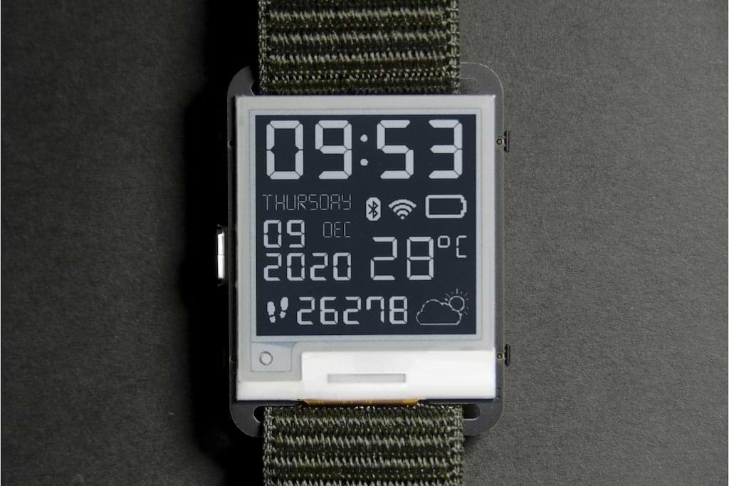Watchy - die Open-Source Smartwatch von Squarofumi