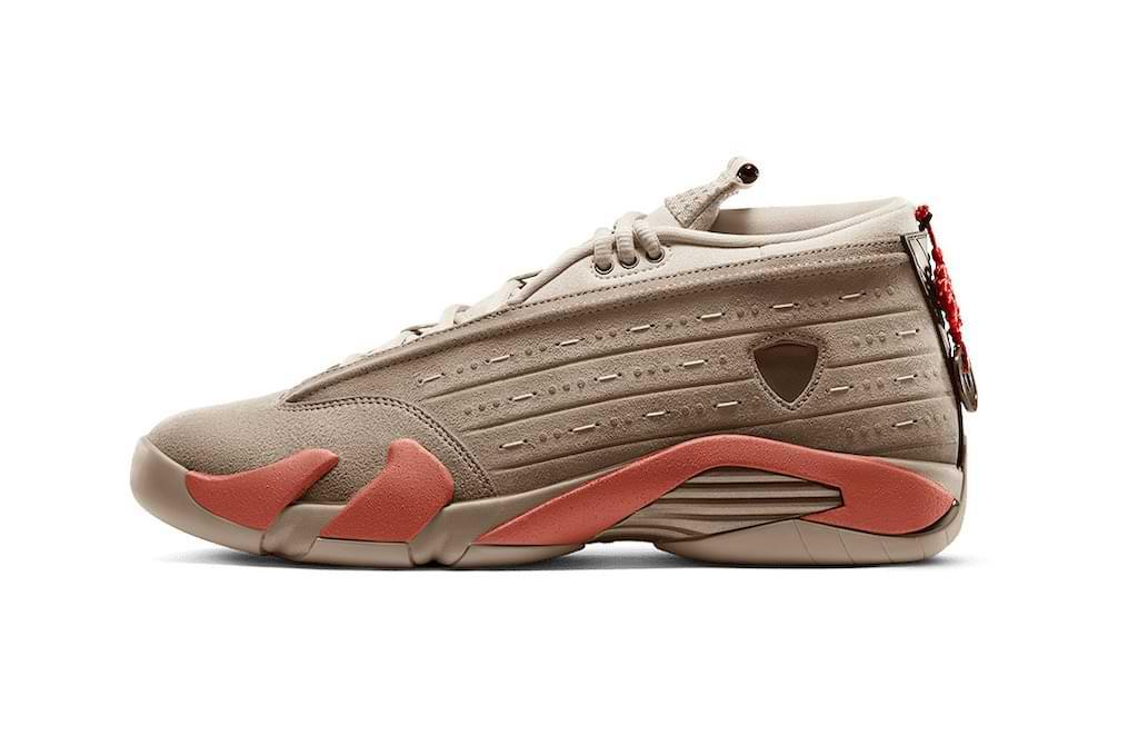 Air Jordan 14 x CLOT Terracotta Sneaker