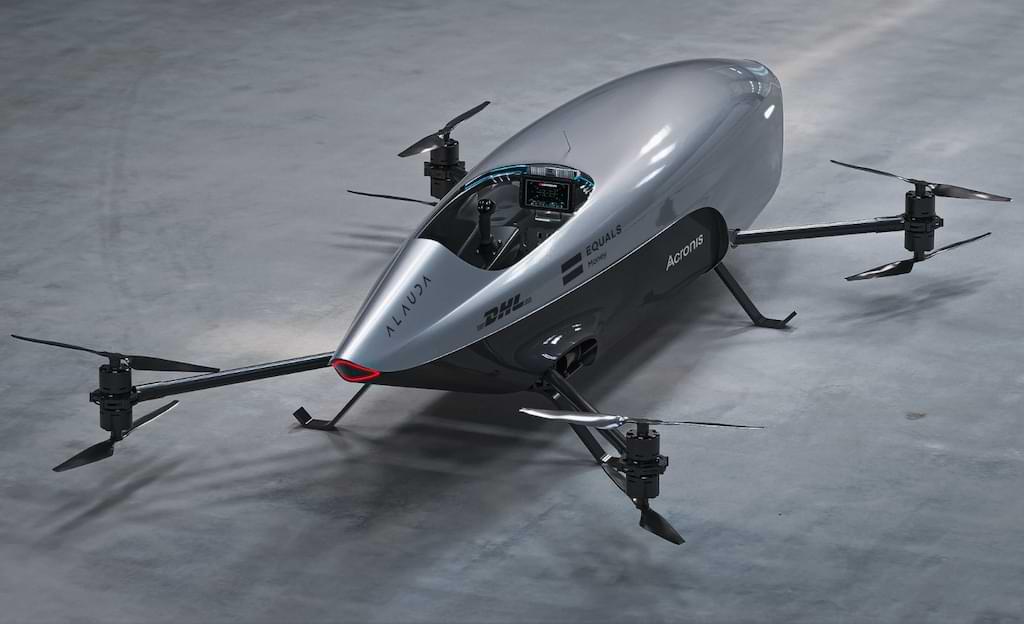 Airspeeder Mk3 - für den Rennsport der Zukunft
