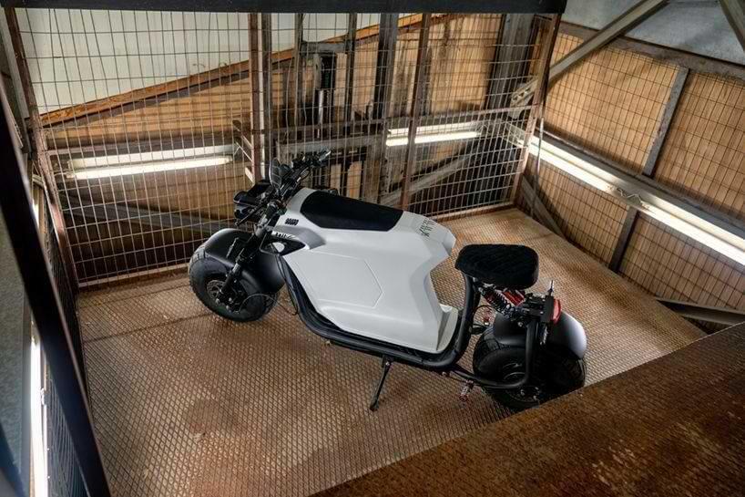 Bull-e Elektro-Scooter in limitierter Auflage