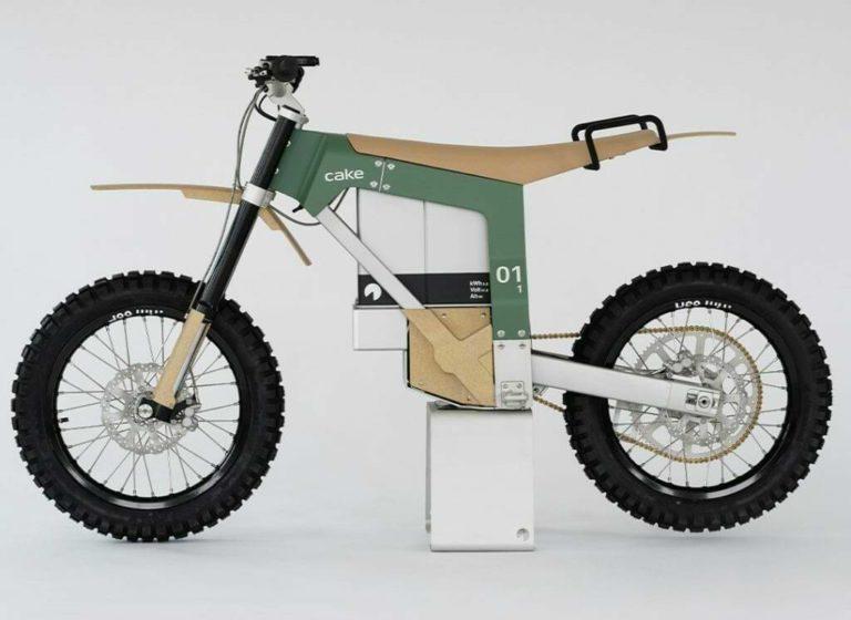 Seitenansicht: Kalk AP Motorrad von Cake