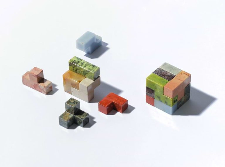 Cubestone Puzzle - Kux Stone Objects