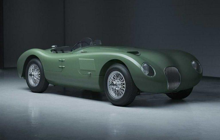 Jaguar C Type Continuation Modell für 2021