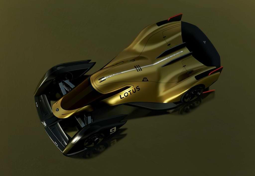Lotus E-R9 Rennwagen 2030