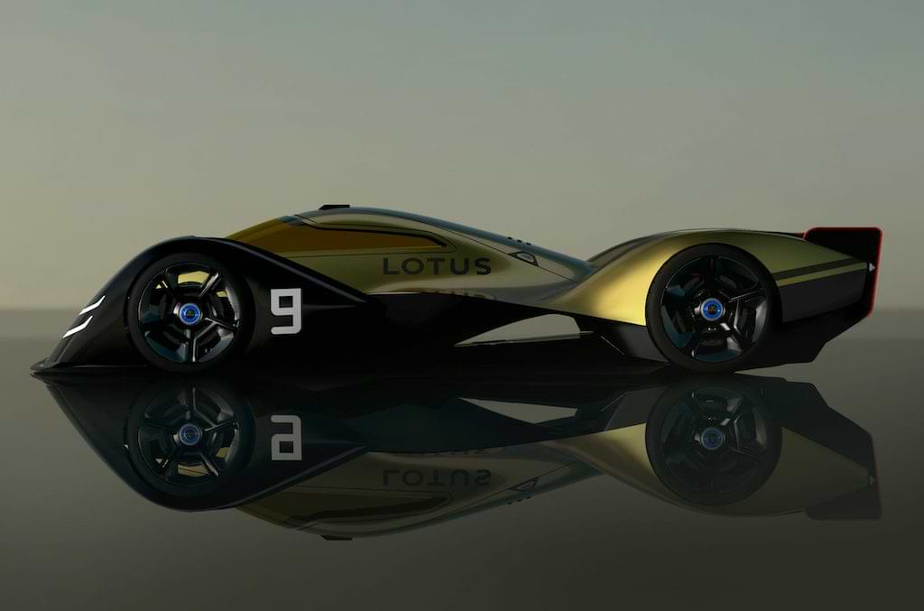 Lotus E-R9 Elektro-Rennwagen 2030