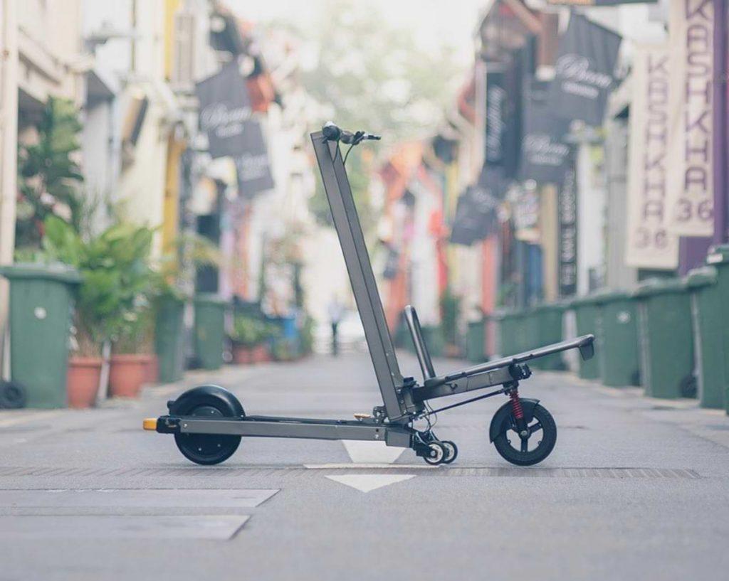 Seitenansicht des MIMO C1 Cargo E-Bikes
