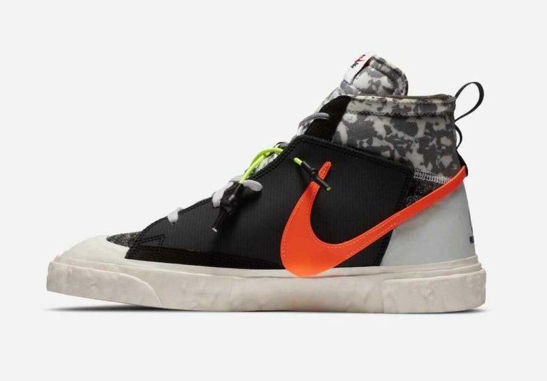 Nike x READYMADE Blazer Mid Sneaker in Black