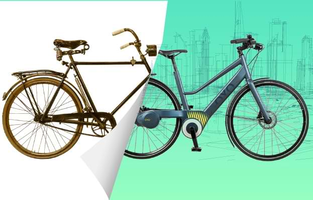 OYO Bike Abbildung auf Indiegogo