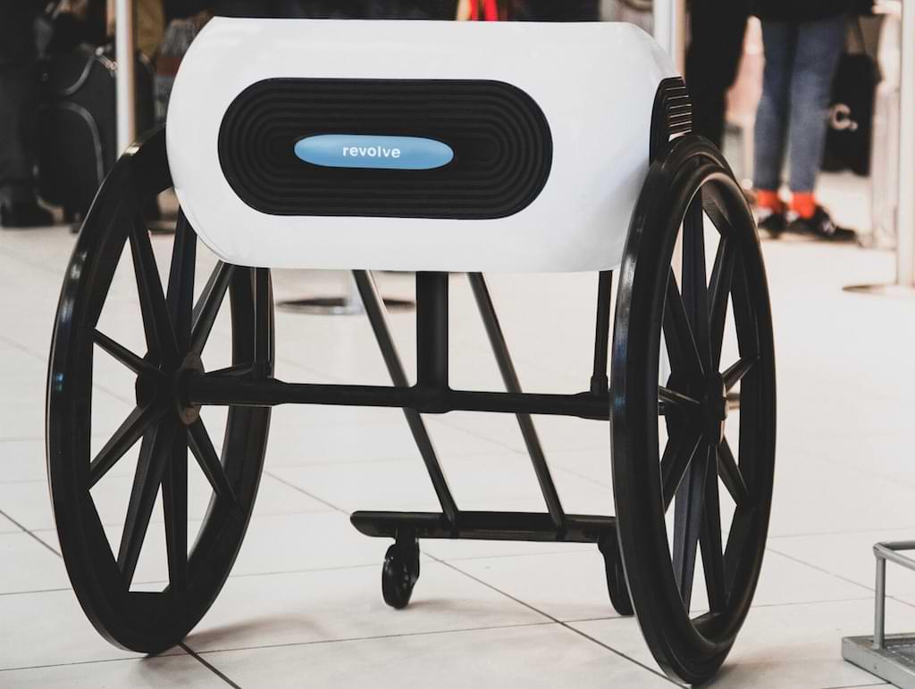 Revolve Air Wheelchair - der neuartige Rollstuhl