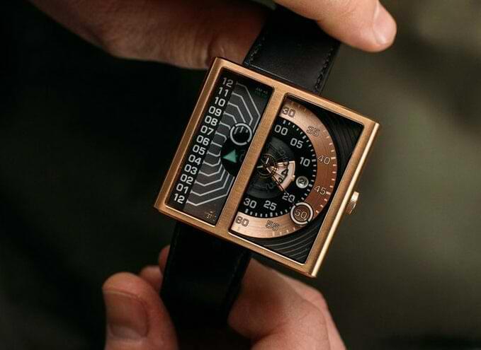 Soloscope 2 Uhr - rechteckige Automatikuhr