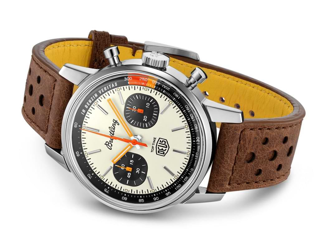 Top Time Deus Limited Edition Chronograph von ex Machina und Breitling