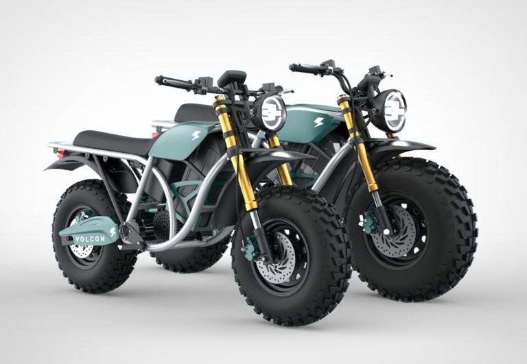 Volcon Runt Offroad Elektro-Motorrad für Kids