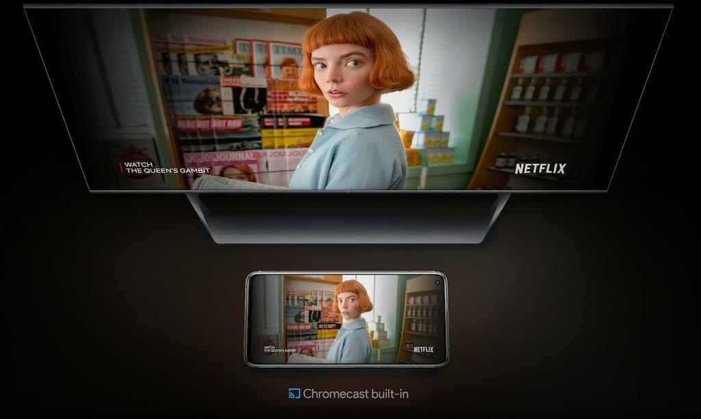 Mi TV Q1 75 mit Chromecast Built-in
