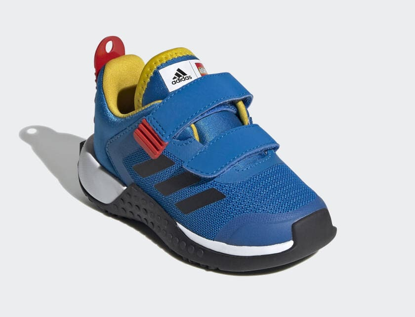 Adidas X Lego Sport Shoes in Shock Blue