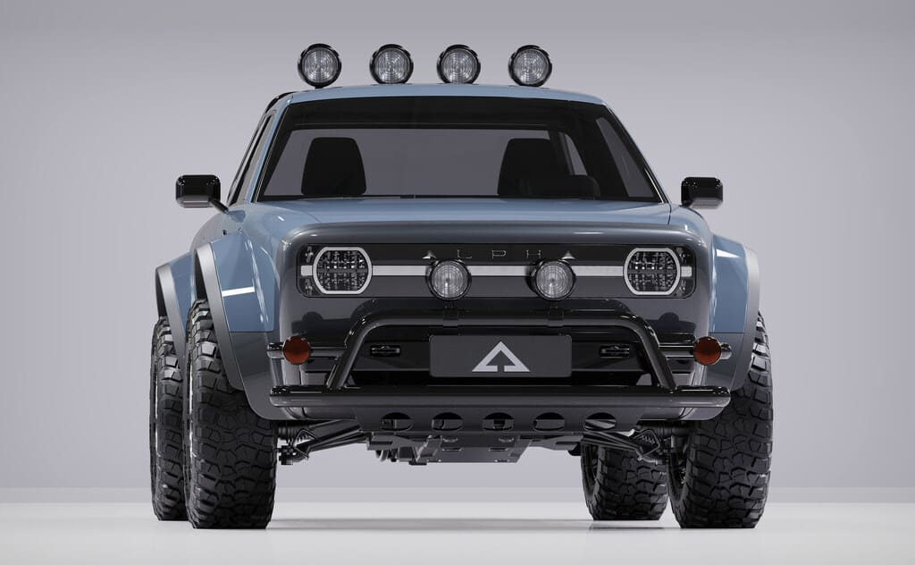 Alpha Wolf Utility Electric Truck